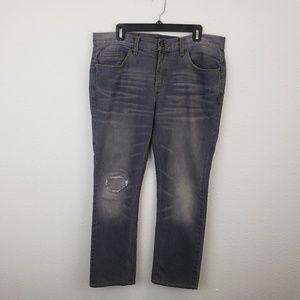 Adam Levine The Dean Mens Denim Jeans Distressed S